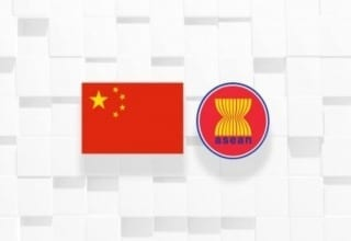 China Asean flag