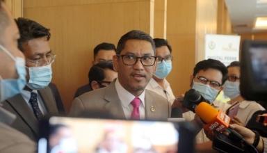 president Datuk Seri Ahmad Faizal Azumu