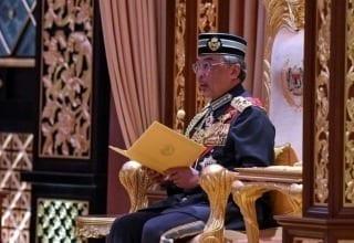 Yang di-Pertuan Agong Sultan Abdullah Sultan Ahmad Shah