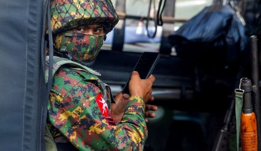 Myanmar'sarmy